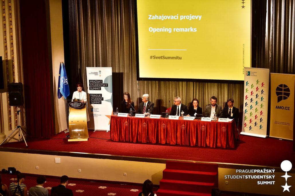 Závěrečná konference XXV. ročníku Pražského studentského summitu