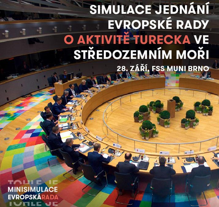 Chystáme simulaci jednání Evropské rady o Turecku!
