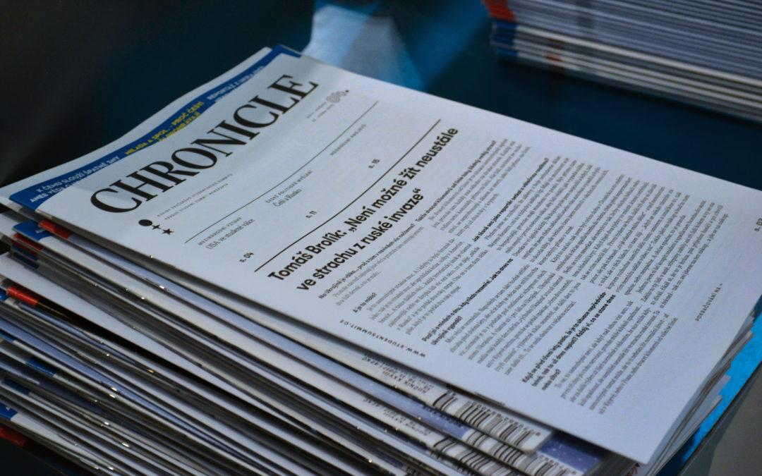 ChronBlog, aneb redakce novin Chronicle objevila internet!
