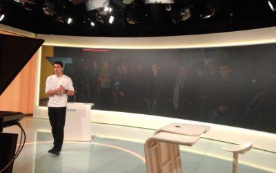 FOTO: Summit navštívil studia České televize