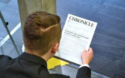 Noviny Chronicle – 4. vydání XXIV. ročníku
